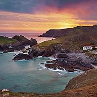 Buy canvas prints of Kynance Cove, Cornwall by Dan Santillo