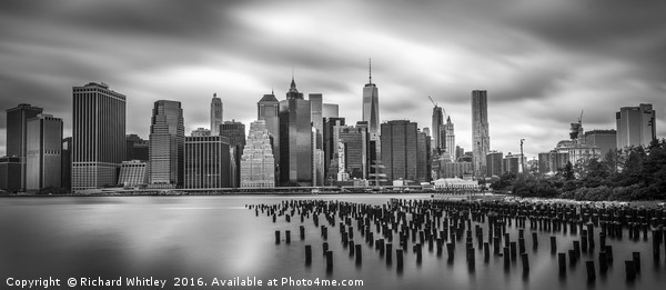 New York Sky Line Canvas print by Richard Whitley