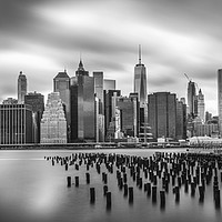 Buy canvas prints of New York Sky Line by Richard Whitley
