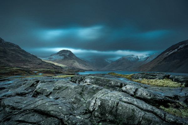 Wast Water Canvas print by Paul Andrews