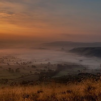 Buy canvas prints of Hope Valley by Paul Andrews