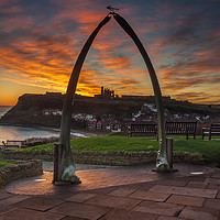 Buy canvas prints of Whitby Whale Bones by Paul Andrews