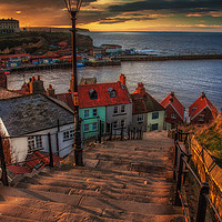 Buy canvas prints of Whitby Harbour by Paul Andrews