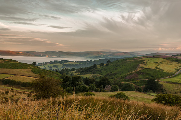 Hope Valley Inversion Canvas Print by Paul Andrews