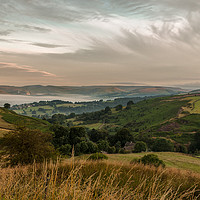 Buy canvas prints of Hope Valley Inversion by Paul Andrews