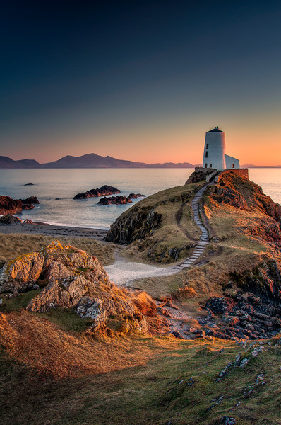 To the Lighthouse Canvas print by Paul Andrews