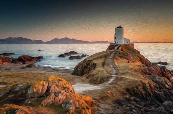 Twr Mawr Lighthouse Canvas print by Paul Andrews