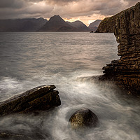 Buy canvas prints of Elgol Sunset by Paul Andrews
