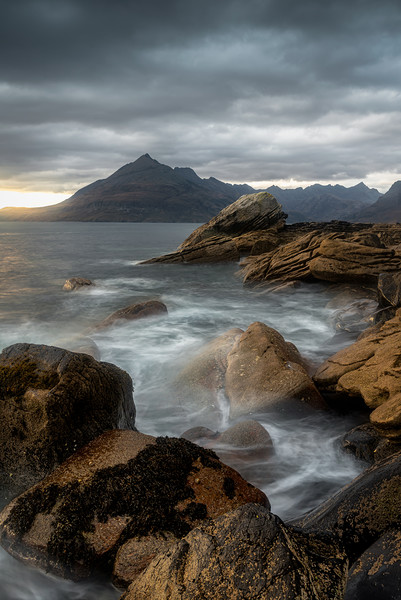 Elgol Canvas print by Paul Andrews