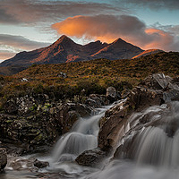 Buy canvas prints of Sgùrr Nan Gillean by Paul Andrews