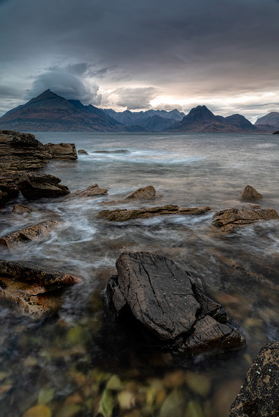 Elgol and the Black Cuillins Canvas print by Paul Andrews