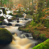 Buy canvas prints of Wyming Brook by John Gent