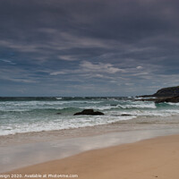 Buy canvas prints of Port Ness Beach, Isle of Lewis by Kasia Design