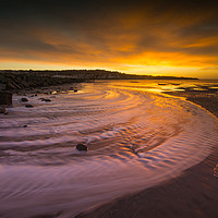 Buy canvas prints of Sunrise over West Kirby  by Clive Ashton