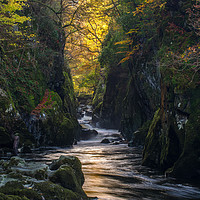 Buy canvas prints of The Fairy Glen by Clive Ashton