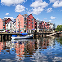 Buy canvas prints of Along The Exeter Quays by dorsetgirl