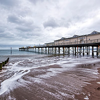 Buy canvas prints of Teignmouth Pier by dorsetgirl