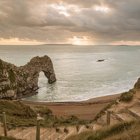 Buy canvas prints of Durdle Door by Michael Greaves