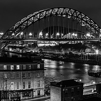 Buy canvas prints of Tyne Bridge by ANDY GIBBINS