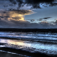 Buy canvas prints of Newgale Beach Pembrokeshire by Wolfgang Ackermann