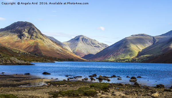 Wastwater. Canvas print by Angela Aird