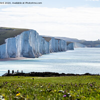 Buy canvas prints of The Coastline. by Angela Aird