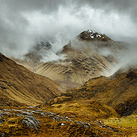 Buy canvas prints of Mountain In The Clouds by Mark Greenwood