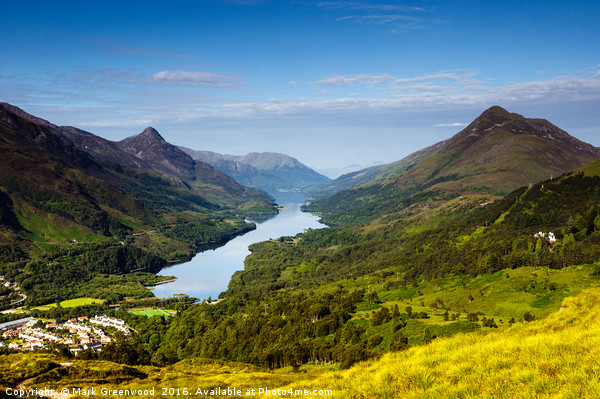 Kinlochleven Canvas print by Mark Greenwood