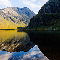 Buy canvas prints of Colours In The Black Loch by Mark Greenwood