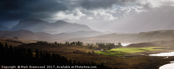 Wester Ross, Scotland Canvas print by Mark Greenwood