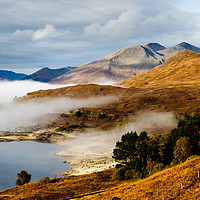 Buy canvas prints of Loch Cluanie by Mark Greenwood