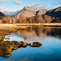 Buy canvas prints of Loch Etive Reflections by Mark Greenwood