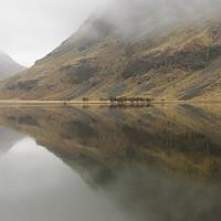 Buy canvas prints of Loch Achtriochtan, Glencoe, Scotland by Mark Greenwood