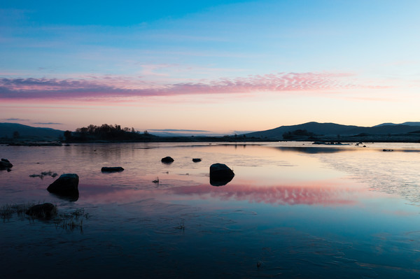 Loch Ba Sunrise Canvas print by Mark Greenwood