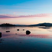Buy canvas prints of Loch Ba Sunrise by Mark Greenwood