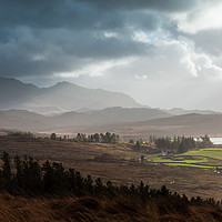 Buy canvas prints of Beinn Airigh Charr by Mark Greenwood