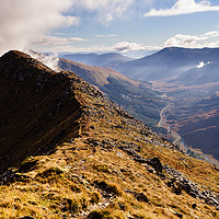 Buy canvas prints of Glen Shiel Morning by Mark Greenwood