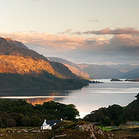Buy canvas prints of Loch Maree from Poolewe by Mark Greenwood
