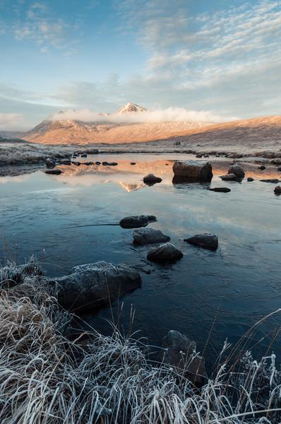 Frozen Black Mount Canvas print by Mark Greenwood