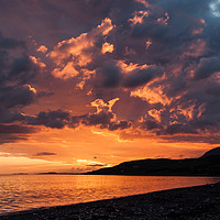 Buy canvas prints of Loch Broom Sunset by Mark Greenwood
