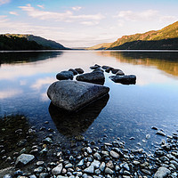 Buy canvas prints of Ullswater by Mark Greenwood