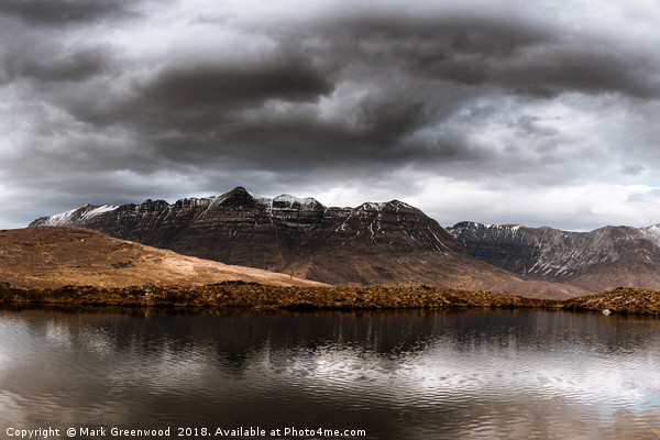 Liathach Canvas print by Mark Greenwood