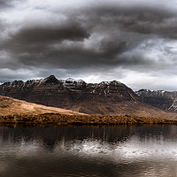 Buy canvas prints of Liathach by Mark Greenwood