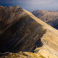Buy canvas prints of Mullach Fraoch-choire by Mark Greenwood