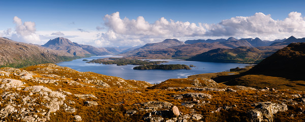 Slioch and Loch Maree Canvas print by Mark Greenwood