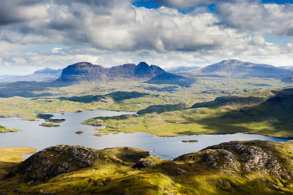 Assynt Canvas print by Mark Greenwood