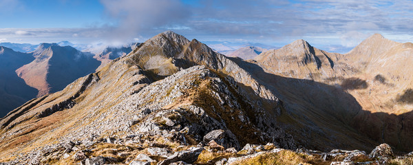 Sisters of Kintail Canvas print by Mark Greenwood