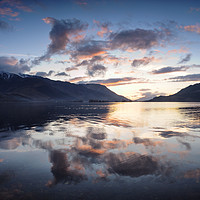 Buy canvas prints of Ballachulish Sunset by Mark Greenwood