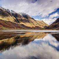 Buy canvas prints of Loch Achtriochtan by Mark Greenwood