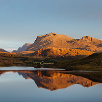 Buy canvas prints of Kernsary Sunset by Mark Greenwood